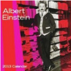 2013 Albert Einstein Wall Calendar
