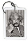 Albert Einstein Key Chain