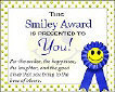 Send a Smiley Award