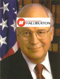Dick Cheney, Vice President of the United States of Halliburton